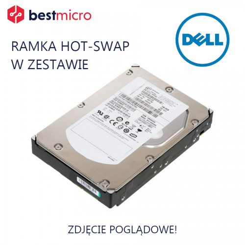 DELL Dysk HDD SATA 6TB 3.5in 7.2K 6Gb - YXTWT