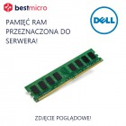 DELL Pamięć RAM, PC2-5300F, DDR2-667, 1GB, 667MHz, 1RX8 - M395T2863QZ4-CE66