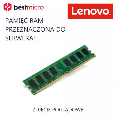 LENOVO Pamięć RAM, DDR3 8GB 1600MHz, 1x8GB, PC3L-12800, CL11, ECC - 00D5036