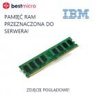 IBM 8GB (2Rx8, 1.5V) PC3-14900 LP RDIMM - 00D5042