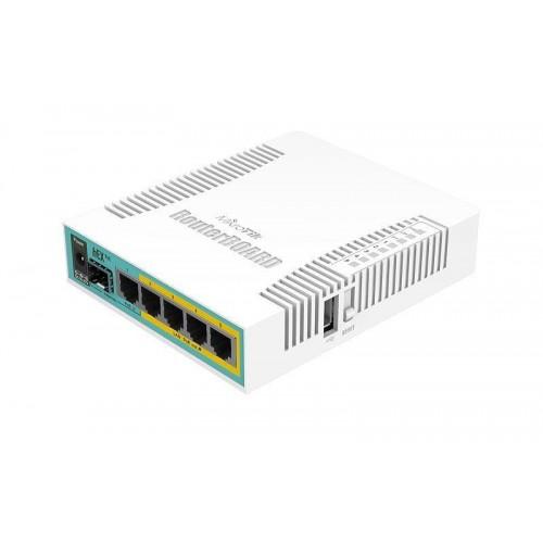 NET ROUTER 10/100/1000M 5PORT/HEX POE RB960PGS MIKROTIK