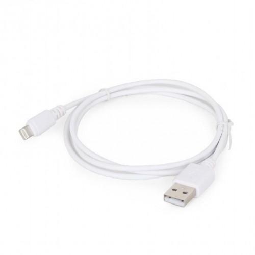 Kabel LIGHTNING TO USB2 2M/WHT CC-USB2-AMLM-2M-W GEMBIRD