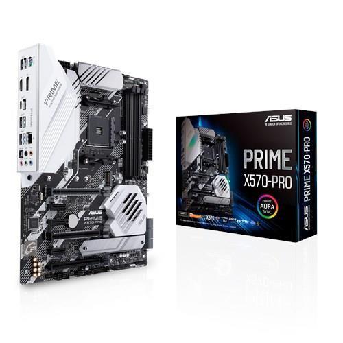 Płyta główna ASUS AMD X570 SAM4 ATX 3xPCI-Express 1x 1xPCI-Express 4x 2xPCI-Express 16x 2xM.2 Memory DDR4 Memory slots 4 1xHD
