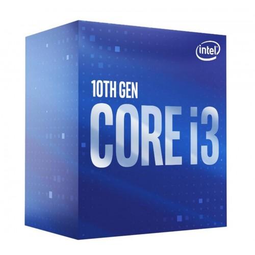 CPU INTEL Core i3 i3-10320 Comet Lake 3800 MHz Cores 4 8MB Socket LGA1200 65 Watts GPU UHD 630 BOX BX8070110320SRH3G