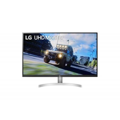 "Monitor LCD LG 32UN500-W 31.5"" 4K Panel VA 3840x2160 16:9 60Hz Matte 4 ms Speakers Tilt 32UN500-W"