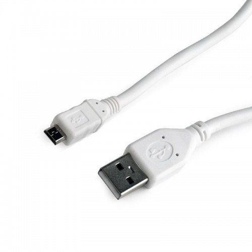 Kabel USB2 A PLUG/MICRO B 0.5M/CCP-MUSB2-AMBM-W-0.5M GEMBIRD