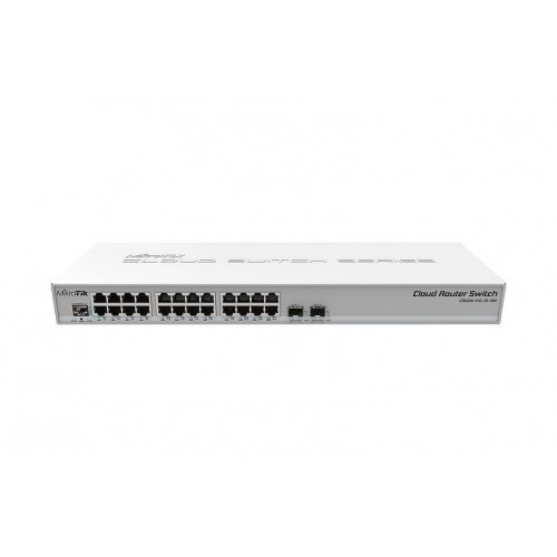 NET ROUTER/SWITCH 24PORT 1000M/CRS326-24G-2S+RM MIKROTIK