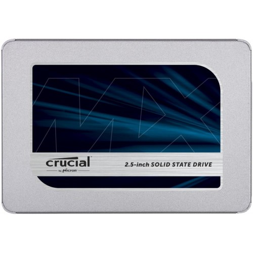 "Dysk Twardy SSD CRUCIAL MX500 250GB SATA 3.0 TLC Write speed 510 MBytes/sec Read speed 560 MBytes/sec 2,5"" MTBF 1800000 hours C"