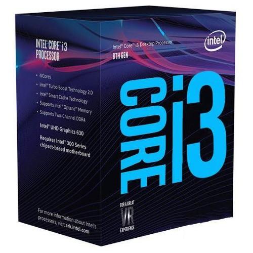 CPU INTEL Core i3 i3-9100F Coffee Lake 3600 MHz Cores 4 6MB Socket LGA1151 65 Watts BOX BX80684I39100FSRF6N