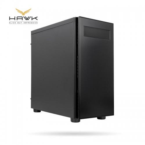 Obudowa CHIEFTEC HAWK MidiTower Not included ATX MicroATX MiniITX Colour Black AL-02B-OP