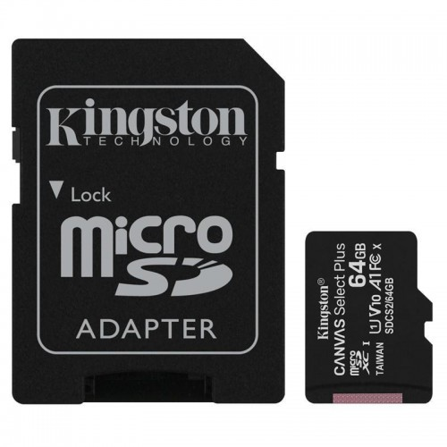 Karta pamięci Micro SDXC 64GB UHS-I/W/ADAPTER SDCS2/64GB KINGSTON