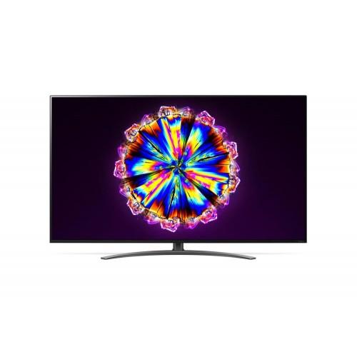 """TV LG 4K/Smart 55"""" 3840x2160 Wireless LAN webOS Colour Black 55NANO913NA"""