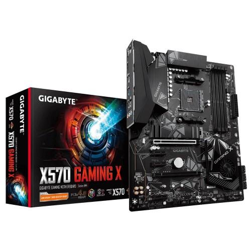 Płyta główna GIGABYTE AMD X570 SAM4 ATX 3xPCI-Express 1x 2xPCI-Express 16x 2xM.2 Memory DDR4 Memory slots 4 1xHDMI 2xUSB 2.0