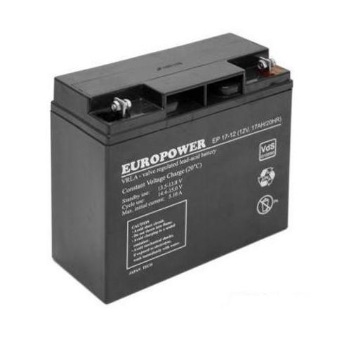 Akumulator 12V 17AH VRLA/EP17-12 EUROPOWER EMU