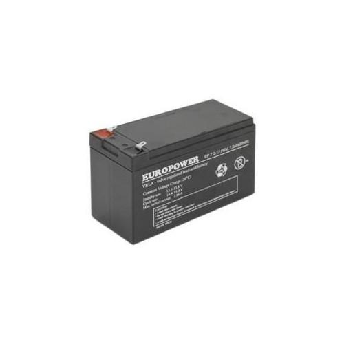 Akumulator 12V 7.2AH VRLA/EP7.2-12 T2 EUROPOWER EMU