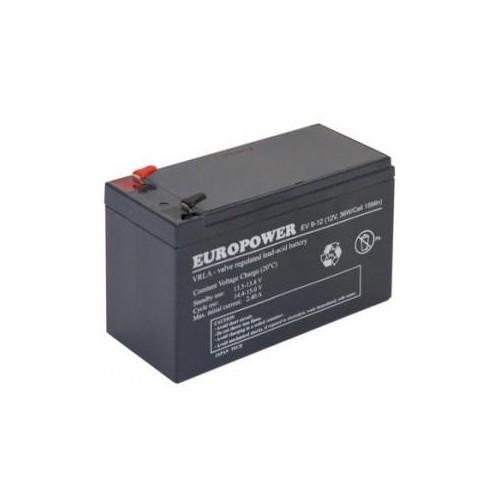 Akumulator 12V 9AH VRLA/EV9-12 T2 EUROPOWER EMU