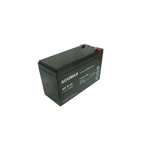 Akumulator 12V 9AH VRLA/AV9-12 T2 ACUMAX EMU