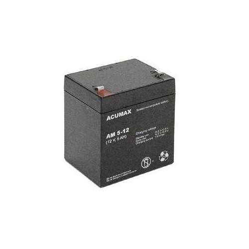 Akumulator 12V 5AH VRLA/AM5-12T2 ACUMAX EMU