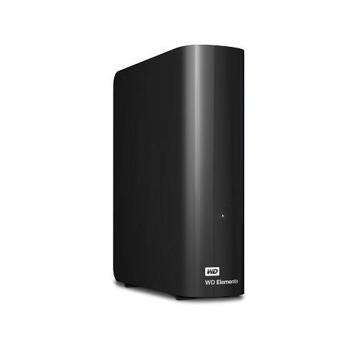 Dysk Twardy zewnętrzny HDD WD Elements Desktop 4TB USB 3.0 Black WDBWLG0040HBK-EESN