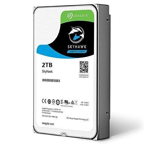 """Dysk Twardy HDD SEAGATE SkyHawk 2TB SATA 3.0 64 MB 5900 rpm 3,5"""" ST2000VX008"""