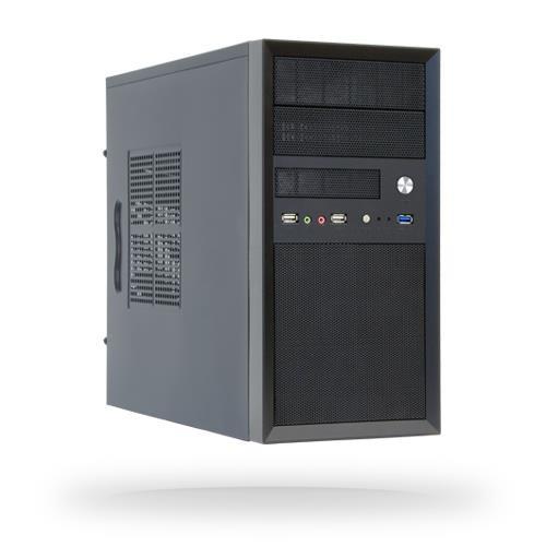 Obudowa CHIEFTEC MiniTower MicroATX Colour Black CT-01B-OP