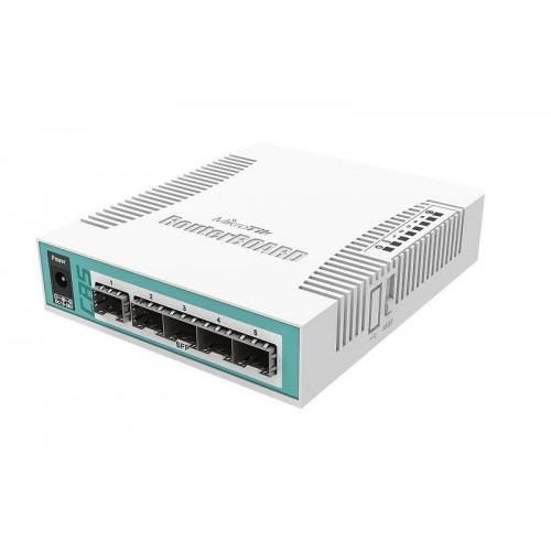 NET ROUTER/SWITCH 5PORT SFP/CRS106-1C-5S MIKROTIK