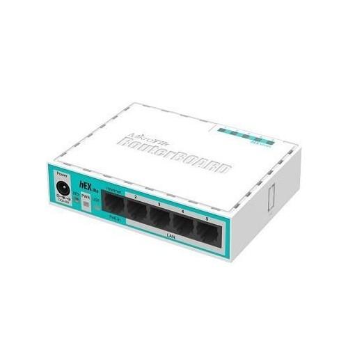 NET ROUTER 10/100M 5PORT/HEX LITE RB750R2 MIKROTIK
