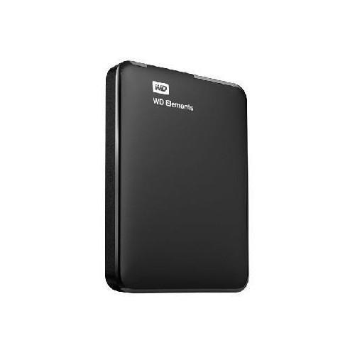 Dysk Twardy zewnętrzny HDD WD Elements Portable 1TB USB 3.0 Colour Black WDBUZG0010BBK-WESN