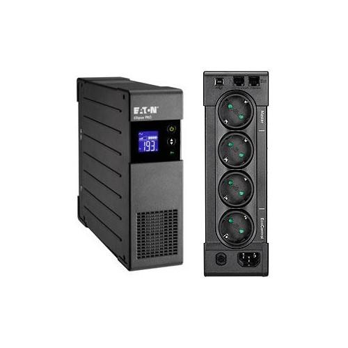 UPS EATON 400 Watts 650 VA LineInteractive Desktop/pedestal Rack ELP650DIN