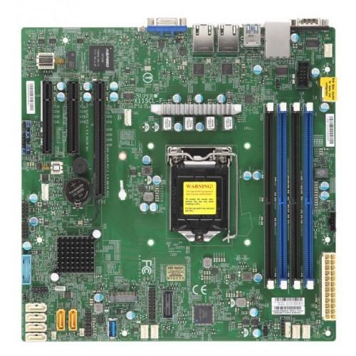 Płyta główna serwerowa C242 S1151 MATX/MBD-X11SCL-F-O SUPERMICRO