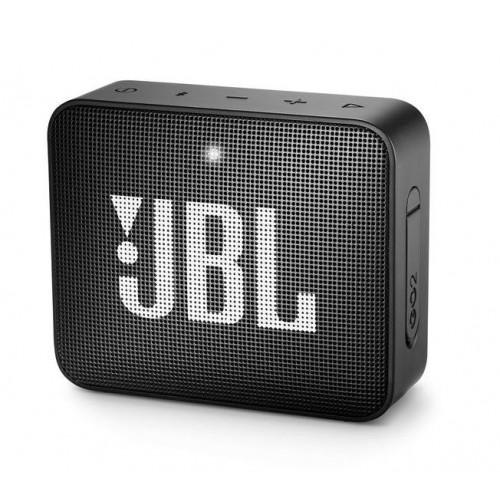 Głośnik przenośny JBL GO 2 Portable/Waterproof/Wireless 1xMicro-USB 1xStereo jack 3.5mm Bluetooth Black JBLGO2BLK
