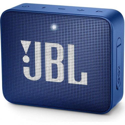 Głośnik przenośny JBL GO 2 Portable/Waterproof/Wireless 1xMicro-USB 1xStereo jack 3.5mm Bluetooth Blue JBLGO2BLU