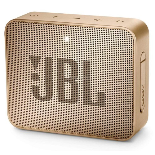 Głośnik przenośny JBL GO 2 Portable/Waterproof/Wireless 1xMicro-USB 1xStereo jack 3.5mm Bluetooth Champagne JBLGO2CHAMPAGNE