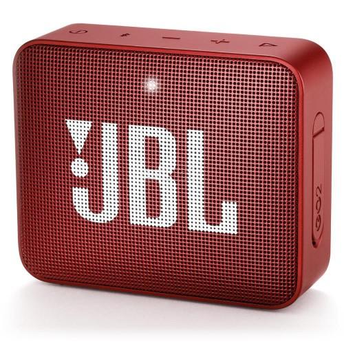 Głośnik przenośny JBL GO 2 Portable/Waterproof/Wireless 1xMicro-USB 1xStereo jack 3.5mm Bluetooth Red JBLGO2RED