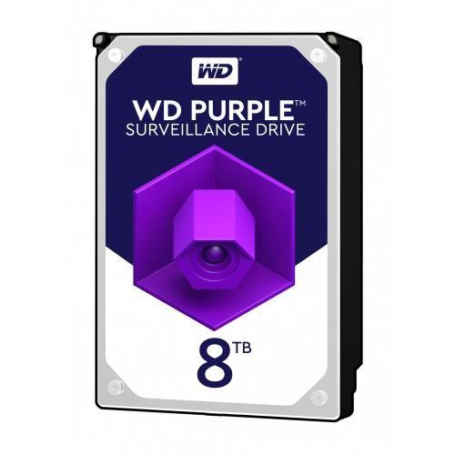 "Dysk Twardy HDD WD Purple 8TB SATA 3.0 256 MB 7200 rpm 3,5"" WD82PURZ"