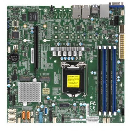 Płyta główna serwerowa C246 S1151 MATX/MBD-X11SCM-F-O SUPERMICRO