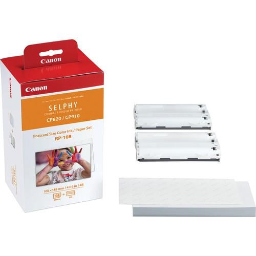Tusz do drukarki + PAPER RP-108/8568B001 CANON