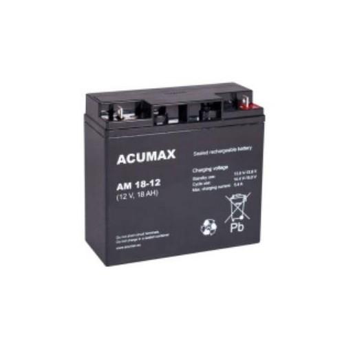 Akumulator 12V 18AH VRLA/AM18-12 ACUMAX EMU