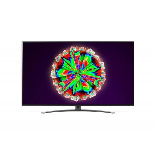 """TV LG 4K/Smart 49"""" 3840x2160 Wireless LAN webOS Colour Black 49NANO813NA"""