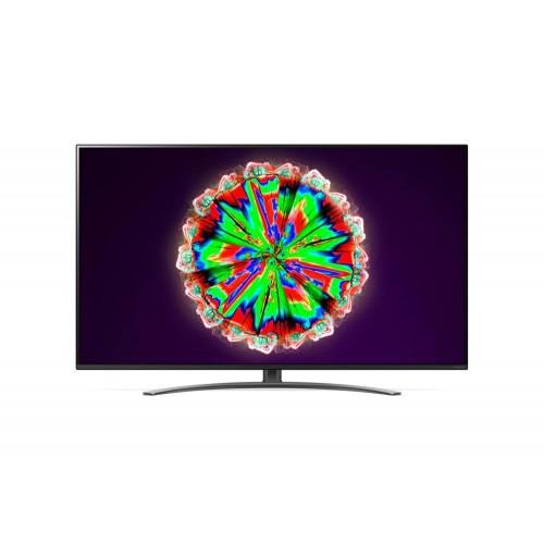 """TV LG 4K/Smart 55"""" 3840x2160 Wireless LAN webOS Colour Black 55NANO813NA"""