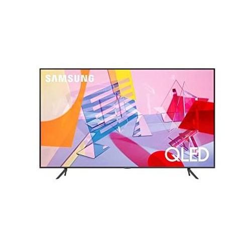 "TV SAMSUNG 4K/Smart 75"" QLED 3840x2160 Wireless LAN Bluetooth Tizen Colour Black QE75Q60TAUXXH"