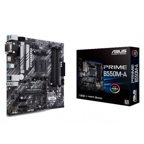 Płyta główna ASUS AMD B550 SAM4 MicroATX 2xPCI-Express 3.0 1x 2xM.2 1xPCI-Express 4.0 16x Memory DDR4 Memory slots 4 1x15pin