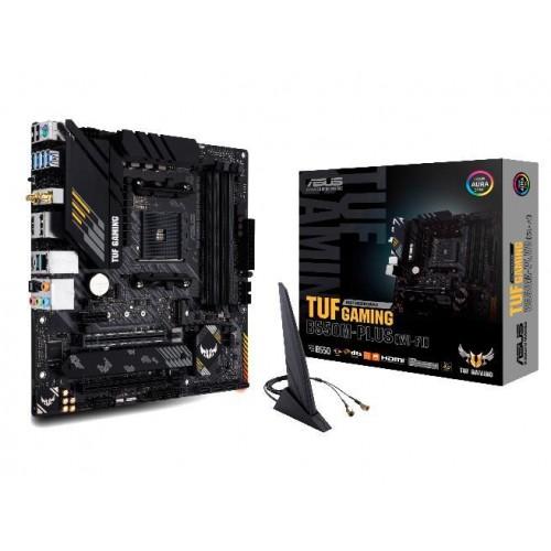 Płyta główna ASUS AMD B550 SAM4 MicroATX 1xPCI-Express 3.0 1x 1xPCI-Express 3.0 16x 2xM.2 1xPCI-Express 4.0 16x Memory DDR4 M
