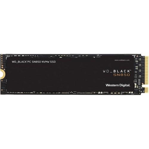 Dysk Twardy SSD WD SN850 500GB M.2 PCIE NVMe Write speed 4100 MBytes/sec Read speed 7000 MBytes/sec 2.38mm TBW 300 TB WDS500G1X0