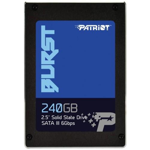 """Dysk Twardy SSD PATRIOT 240GB SATA 3.0 Write speed 500 MBytes/sec Read speed 555 MBytes/sec 2,5"""" PBU240GS25Dysk Twardy SSDR"""