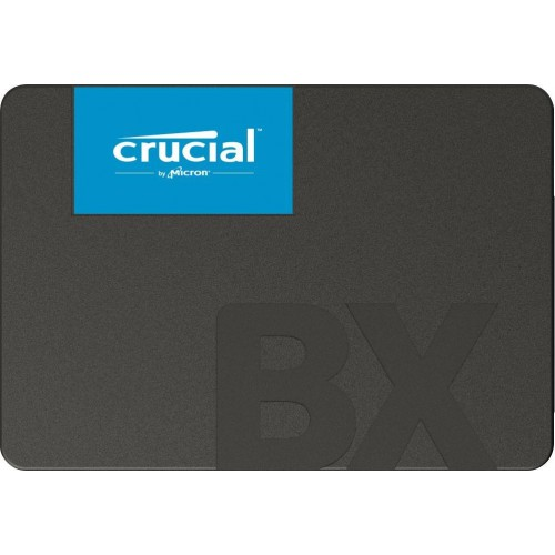 "Dysk Twardy SSD CRUCIAL BX500 480GB SATA 3.0 Write speed 500 MBytes/sec Read speed 540 MBytes/sec 2,5"" MTBF 1500000 hours CT480"