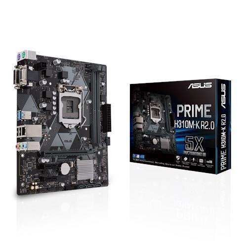 Płyta główna ASUS Intel H310 Express LGA1151 MicroATX 2xPCI-Express 2.0 1x 1xPCI-Express 3.0 16x Memory DDR4 Memory slots 2 1