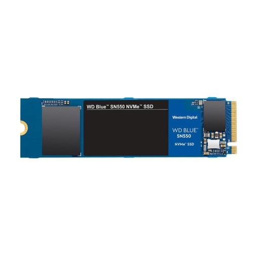 Dysk Twardy SSD WD BLUE SN550 250GB M.2 PCIE NVMe TLC Write speed 950 MBytes/sec Read speed 2400 MBytes/sec MTBF 1700000 hours W