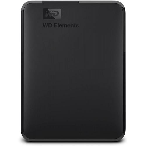 Dysk Twardy zewnętrzny HDD WD Elements Portable WDBU6Y0050BBK-WESN 5TB USB 3.0 Colour Black WDBU6Y0050BBK-WESN