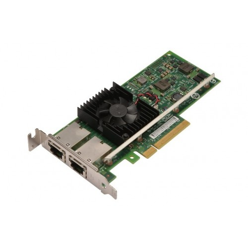 Karta sieciowa DELL PCIE, Ethernet, X540T2 RC49N - RC49N